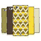 HEAD CASE DESIGNS BUSY BEE PATTERNS CASE FOR SONY XPERIA Z1 COMPACT D5503