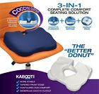 Kabooti Seat Cushion - Combines Donut, Coccyx and Wedge into One!  Comfort!