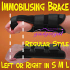 Immobilising Wrist Brace, Strong Support Strap Metal Splint Carpal Tunnel, RSI