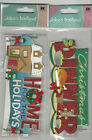 U CHOOSE  Jolee's CHRISTMAS DINNER  HOME FOR HOLIDAYS 3D Stickers