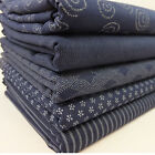 AP Indigo Blue 100% Cotton Japanese Fabric
