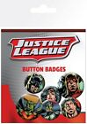 Justice League of America Retro JLA Badge Pack 10x15cm