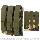 FIELDS AIRSOFT MP 7 MP 5 TRIPLE MAGAZINE POUCH MOLLE 9MM MAG UTILITY