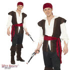 "FANCY DRESS COSTUME # ADULT PIRATE MAN BUCCANEER SHIPMATE 38""-48"""
