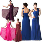 Sexy Chiffon Mother of the Bride Long Evening Party Prom Dress Bridesmaids Dress