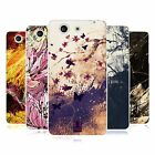HEAD CASE FLORAL DRIPS SILICONE GEL CASE FOR SONY XPERIA Z3 COMPACT D5803