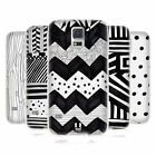HEAD CASE BLACK AND WHITE DOODLE PATTERNS GEL CASE FOR SAMSUNG GALAXY S5