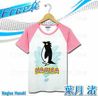 NEW Free! Iwatobi Swim Club Nagisa Hazuki Cosplay Costume Unisex Cotton T-shirt