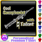 Sax Soprano Cool Player With Natural Talent - Music T Shirt by MusicaliTee