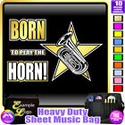 Tuba Born To Play - Sheet Music & Accessories Personalised Bag by MusicaliTee