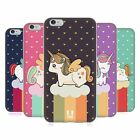 HEAD CASE FANCY UNICORNS CHUBBY COLLECTION GEL CASE FOR APPLE iPHONE 6 PLUS 5.5