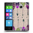 HEAD CASE LOVE FEATHERS SILICONE GEL CASE FOR NOKIA X2 DUAL SIM