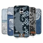 HEAD CASE JEANS AND LACES GEL CASE FOR SAMSUNG GALAXY S5 MINI G800F