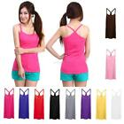 Sexy Womens Cozy Casual Sleeveless Vest Y-Back T-shirt Tank Top Vest Tops A52