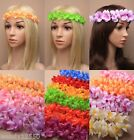PACK OF 6 LADIES BROWBANDS, BROW BANDS, HEADBANDS, FESTIVAL, GARLAND, FLORAL