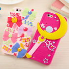 """Silicon Cartoon Sailor Moon Phone Back Case Cover for iPhone 5/5S 6 4.7""""/5.5"""""""