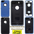 NEW Otterbox Defender Series Case for Apple iPhone 6+ Plus 5.5 Black White Blue