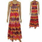 New Ladies Summer Sun Maxi Dress John Rocha @ Debenhams Size UK 8 10 Womens