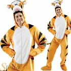 Adult Mens Tigger Winnie The Pooh Cartoon Tiger Fancy Dress Costume Outfit
