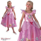 GIRLS DISNEY PRINCESS PALACE PETS PINK FANCY DRESS COSTUME