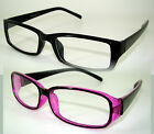 NEW FASHION COLOR RECTANGULAR  FRAME MEN WOMEN CLEAR LENS GLASSES SHARP & SMART