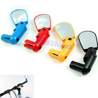Rotate Bike Bicycle Handlebar Rearview Mirror 4 Color Flexible Adjustable Safety