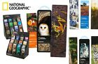 National Geographic 3-D BOOKMARKS Barn Owl, Space Shuttle, Sharks, Wolf, Tigers