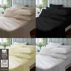 """Extra Deep 16""""/41cm Fitted Sheet Percale Quality Egyptian Cotton Sheets All Size image"""