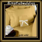22 Solid + Stripe Color 2PC Pillow Case 1000TC Body / Bed Body Size 100% Cotton