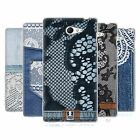 HEAD CASE JEANS AND LACES SILICONE GEL CASE FOR SONY XPERIA M2