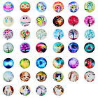 10PCs New Glass Dome Cabochons Embellishment Round Mixed 20mm