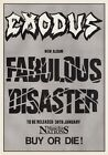 EXODUS Fabulous Disaster PHOTO Print POSTER Band Blood In Blood Out Shirt 001
