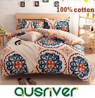 New Classic Fashion 4Pcs S King Size Bed Quilt/Duvet/Doona Cover Set 100%Cotton