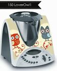 Thermomix Stickers Decal TM31 Front&Back option: Loverowl Yellow