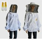 BEEKEEPING JACKET BEE KEEPING JACKET HEAVY DUTY & COW HIDE VENTILATED GLOVES