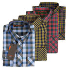 Ben Sherman Shirt Mens Mod Easy Union Fit Gingham Check Classic Long Sleeve New