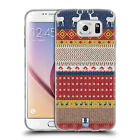 HEAD CASE KNITTED CHRISTMAS SILICONE GEL CASE FOR SAMSUNG GALAXY S6 G920
