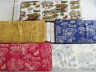 DECORATOR toile type 100% cotton fabric by Jodi Barrows for Sullivans Intl 1 yd