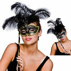 Ladies Treviso Eyemask Fancy Dress Halloween Accessory Festival Party One Size