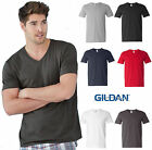 Gildan Mens Softstyle V-Neck T-Shirt S M L XL 2Xl 3XL New Colors - 64V00