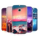 HEAD CASE WORDS TO LIVE BY SERIES 4 SILICONE GEL CASE FOR MOTOROLA MOTO E XT1021