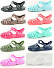 F0711 Ladies PVC Jelly Gladiator Style Sandals