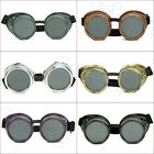 Gothic Vintage Victorian Steampunk Goggles Welding Punk Cosplay New Glasses
