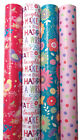3m Roll Modern Female Gift Wrap Wrapping Paper