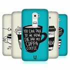 HEAD CASE COFFEE FIX SILICONE GEL CASE FOR LG G2 D802