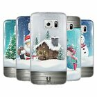 HEAD CASE CHRISTMAS IN JARS SILICONE GEL CASE FOR SAMSUNG GALAXY S6 EDGE G925