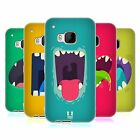 HEAD CASE GOBBLE UP SILICONE GEL CASE FOR HTC ONE M9