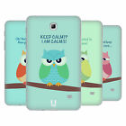 HEAD CASE MEAN OWLS SILICONE GEL CASE FOR SAMSUNG GALAXY TAB 4 7.0 LTE T235