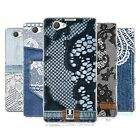 HEAD CASE JEANS AND LACES SILICONE GEL CASE FOR SONY XPERIA Z1 COMPACT D5503