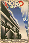 THE NORD EXPRESS... Vintage Railway/Travel Advertising Poster A1A2A3A4Sizes